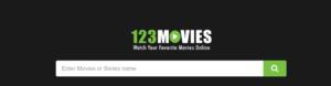 123Movies main page