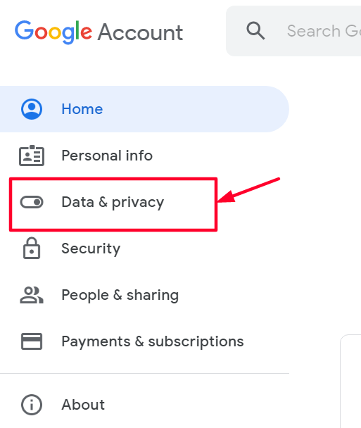 Gmail Account Data and Privacy