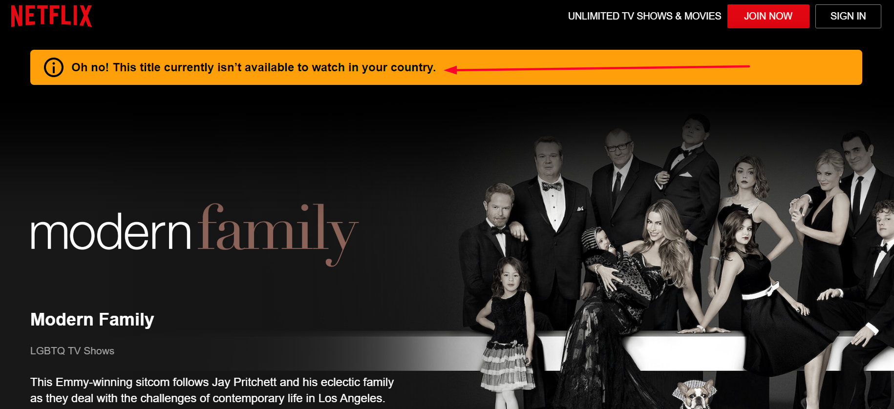 Modern Family On Netflix In The U.S.