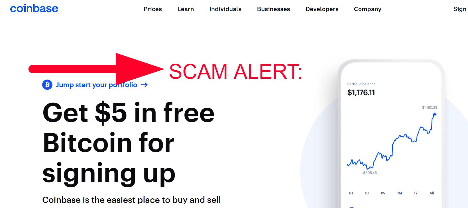 Crypto and Coinbase Scams