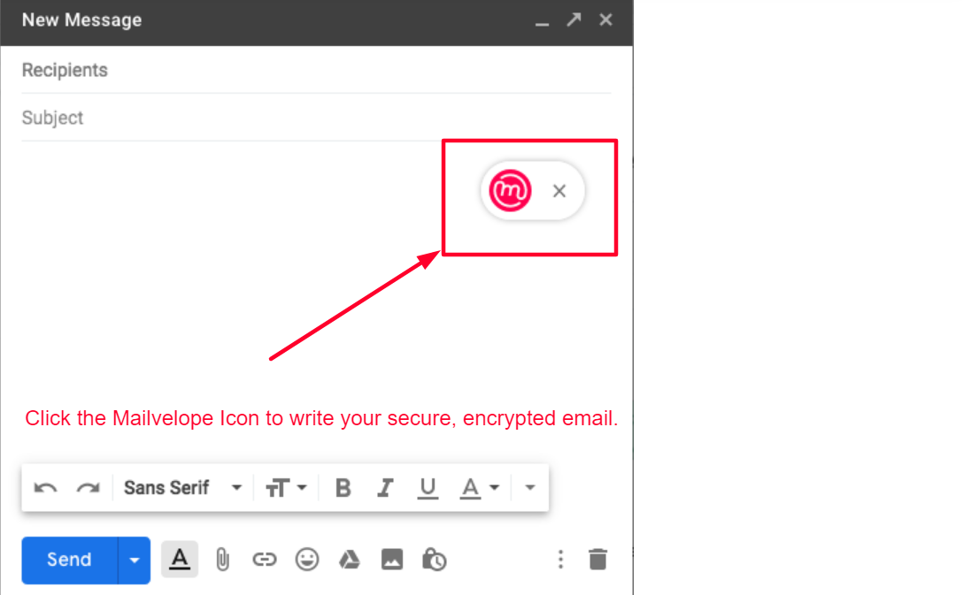 Mailvelope Extension